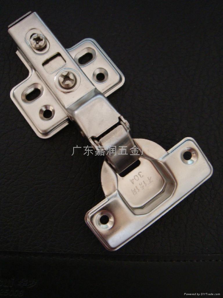 缓冲铰链 自卸铰链橱柜五金配件; 合页和铰链;; 不锈钢 液压铰链图片
