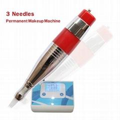 3 needles permanent makeup machine
