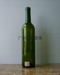 750ml玻璃紅酒瓶