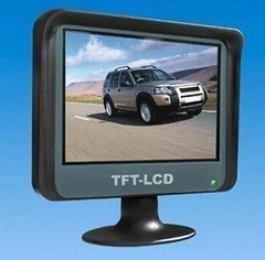 3.5-inch Digital TFT LCD Rear-view Monitor