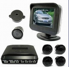 Video Parking Sensor with 2.5-inch TFT LCD Screen