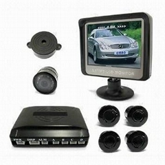 "Wireless Video Parking Sensor with 3.5"" TFT-LCD Screen"