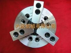 3H-06臺灣佳賀卡盤三爪卡盤油壓卡盤