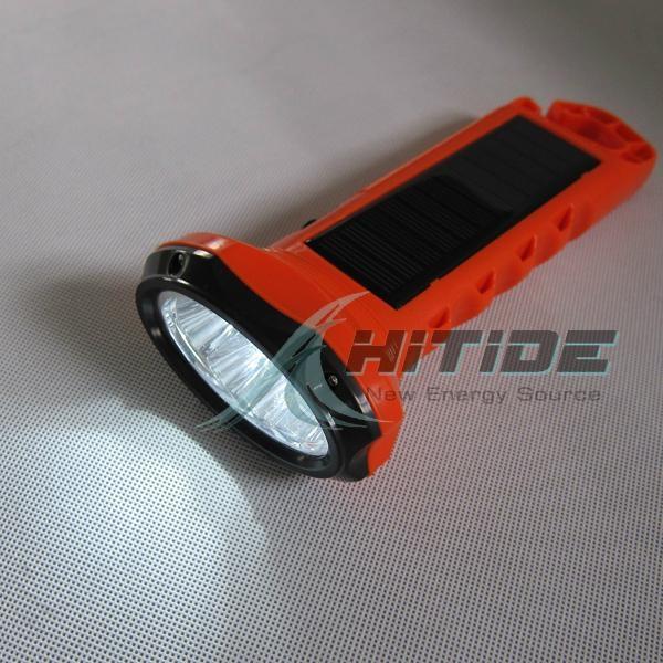 太阳能防水大手电筒 4