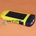 太阳能迷你小手电筒