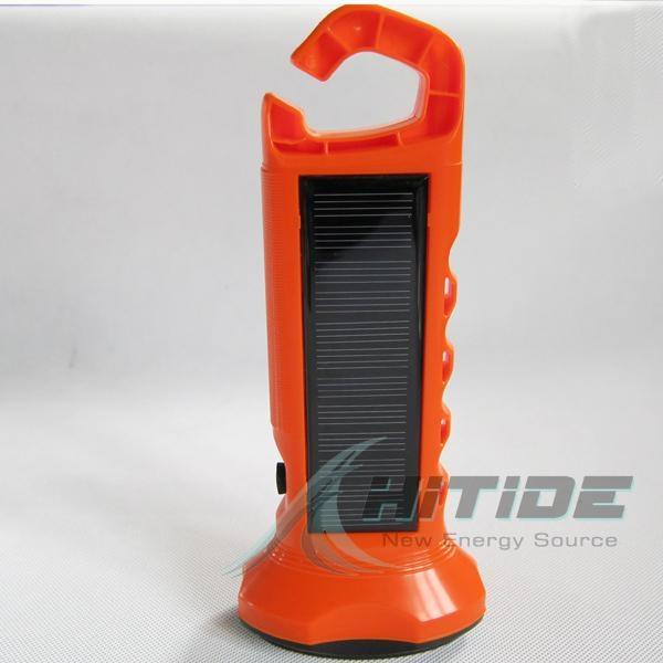 太陽能LED手電筒 1