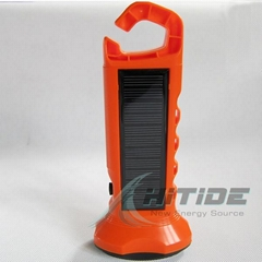 太阳能LED手电筒