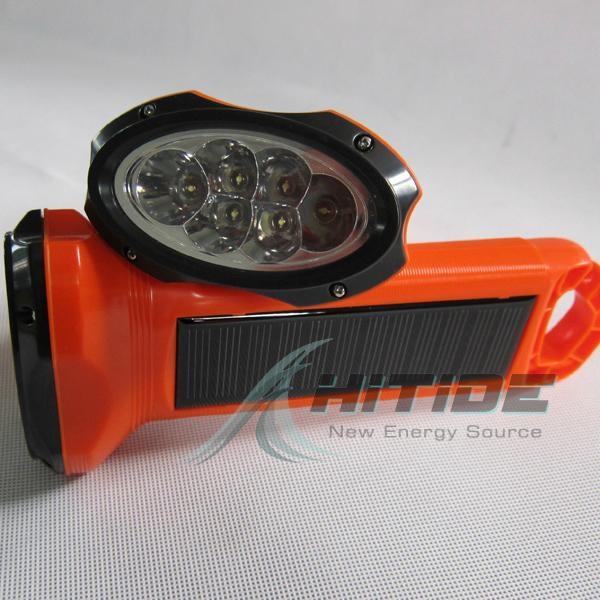 太陽能LED手電筒 2