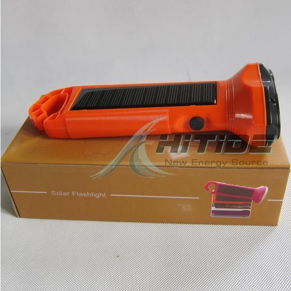太陽能LED手電筒 3