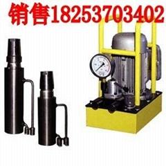 液压电动气动锚索张拉机具