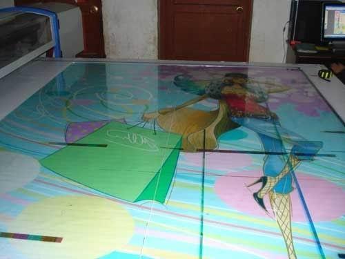 家電玻璃面板彩印機 5