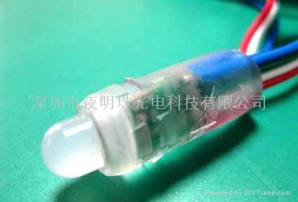 9mm 12mm穿孔字燈串 1