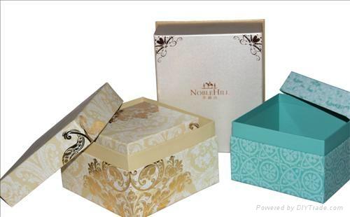 深圳礼品纸盒 包装手工纸盒制作