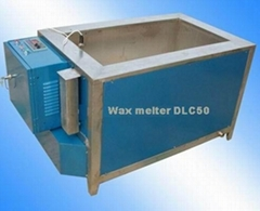 Electrical paraffin wax melter