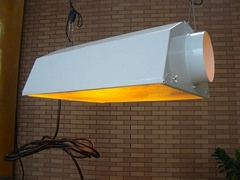 "6"" air cooled reflector, grow light reflector"