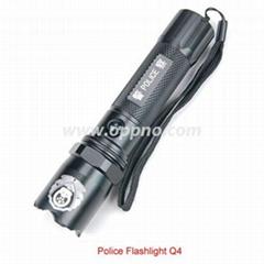 LED警察強光手電筒