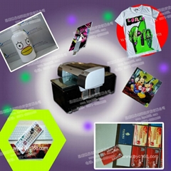 Digital color flatbed printer