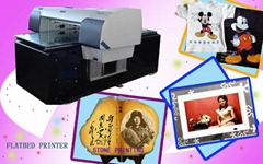 Adhesive tape digital flatbed printer