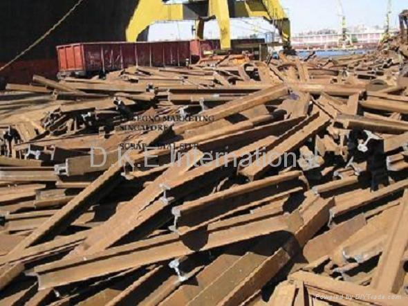 Scrap Metal HMS1/Used Railroad Rails - Product Catalog - United States