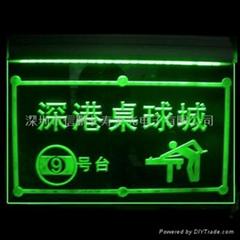 LED发光指示牌