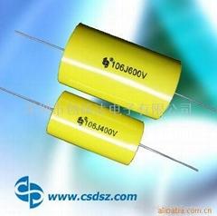 CBB20-MPT金属化聚丙烯薄膜轴向滤波电容(MPT)
