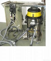 移动集尘式无尘干磨机系统