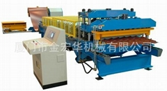 ROLL FORMING MACHINE FOR TILE ROOF