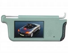 7 inch sun visor car lcd monitor /car monitor
