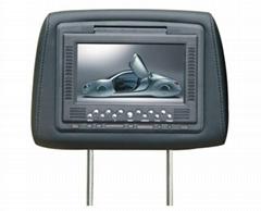 7inch (16:9) headrest car LCD monitor