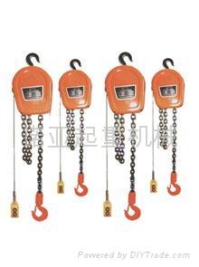DHS型環鏈電動葫蘆 3