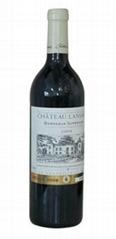法國原裝進口紅酒蘭薩德城堡