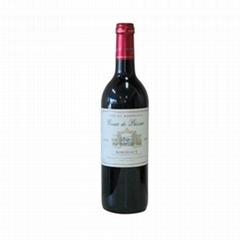 北京供應法國原裝進口紅酒十字菲邊