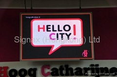 P4 Indoor full color LED sign