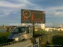 P10 SMD Outdoor high brightness screen