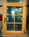 aluminum timber Window