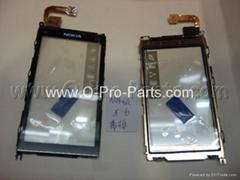 Nokia X6 digitizer w frame