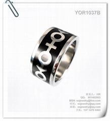 时尚不锈钢戒指