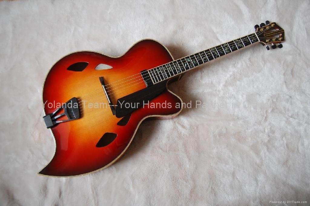 幼儿园自制手工乐器吉他