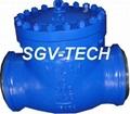 check valve flange ends cast valve