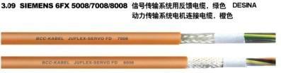 TPE绝缘高柔性屏蔽伺服电机电缆 2