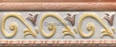 Rustic border tiles