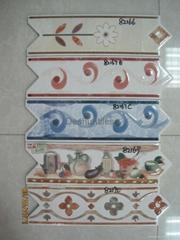Arrow border tile