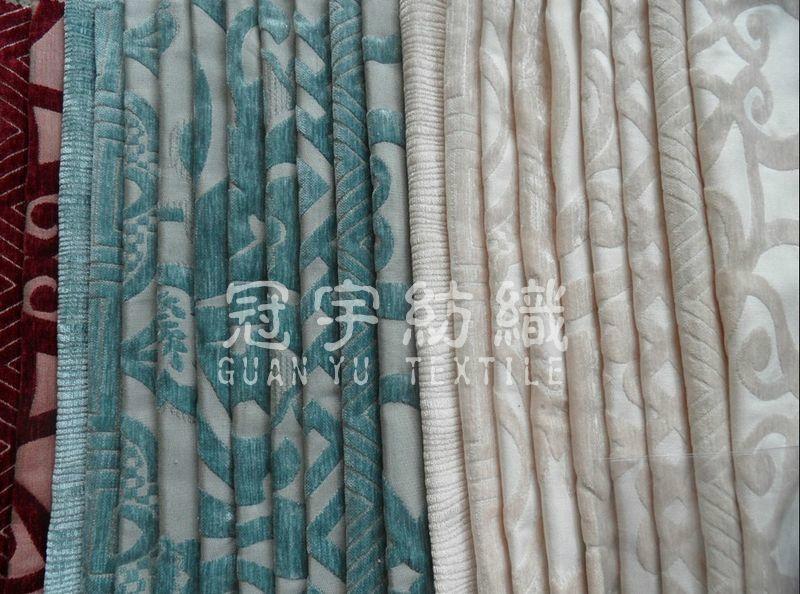 Jacquard Chenille Fabric 2