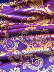 Bronzing Suede Fabric