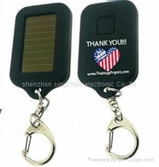 solar&led key chain