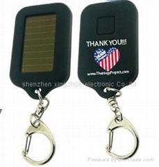 solar&led key chain