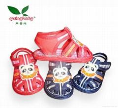 Springbaby children's handmade cloth sandals