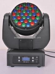 stage light CREE 37*3W RGB LED BEAM moving head light