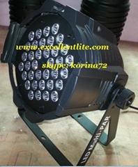 stage light LED par can lighting 36*3W RGB