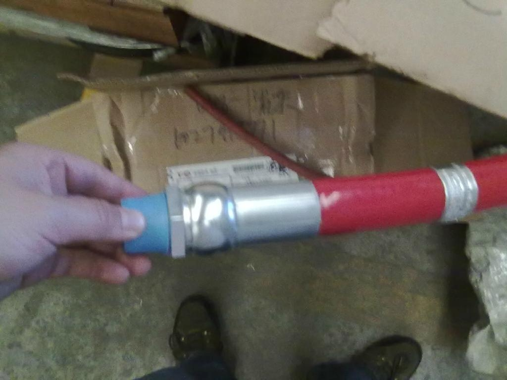 供应原装进口parker天然气管 1